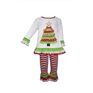 Blueberi Boulevard Girls Size 12 Months Christmas